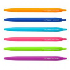 Ручка шариковая BuroMax Holly Touch автоматическая 0,7 мм синяя (BM.8271)