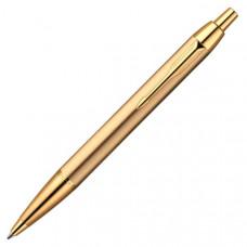 Ручка шариковая Parker IM Brushed Metal Gold GT BP  Арт. 20 332G
