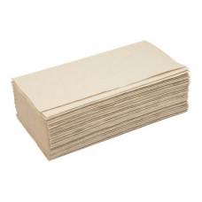 Полотенца бумажные листовые Well's V-сложения 160 листов серые
