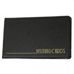 Визитница Panta Plast на 24 визитки черная Арт. 0304-0001-01