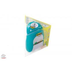 Диспенсер 3М Post-it Tridex для самоклеящихся закладок бело-голубой