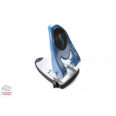 Дырокол Economix 60 листов металлический синий (E40119)