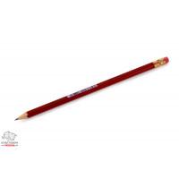 Карандаш чернографитный Koh-I-Noor 1372 Oriental НB с ластиком Арт. 01247