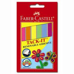 Клей многоразового применения Faber-Castell Tack IT 50 г цветной Арт. 19617 187094-50