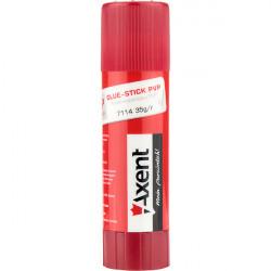 Клей карандаш 35 г Axent основа PVP Арт. 7114-А