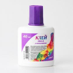 Клей ПВА Kite 40 мл с кисточкой (K17-134)