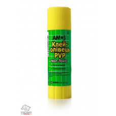 Клей-карандаш 22 г Amos основа PVP Арт. 260068