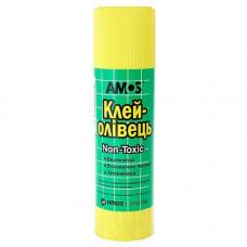 Клей-карандаш 35 г Amos основа PVP Арт. 260069