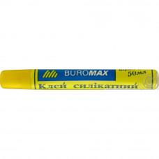 Клей силикатный BuroMax 50 мл с тканевой мембраной Арт. ВМ.4802