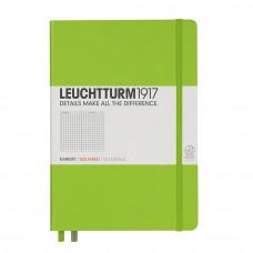 Записная книжка Leuchtturm1917 А6 твердая обложка на резинке лайм Арт. 338746