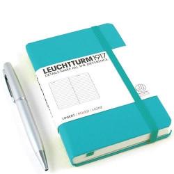Записная книжка Leuchtturm1917 А6 твердая обложка на резинке изумруд Арт. 344787