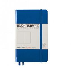 Записная книжка Leuchtturm1917 А6 твердая обложка на резинке королевский синий Арт. 344753