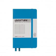 Записная книжка Leuchtturm1917 А5 твердый переплет на резинке лазурь Арт. 346693