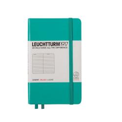 Записная книжка Leuchtturm1917 А6 твердая обложка на резинке изумрудная Арт. 344786