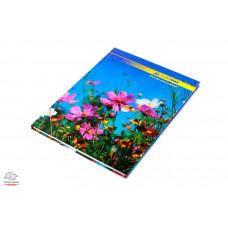 Книга канцелярская BuroMax А4 96 листов офсет в клетку твердый переплет Арт. BM.2400