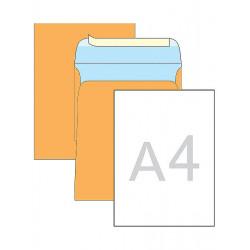 Конверт почтовый С4 /229х324 мм/ СКЛ крафт с расширением