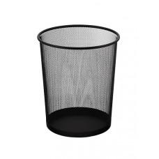 Корзина для бумаг Axent d 28 см металлическая сетка черная круглая Арт. 2119-01-A