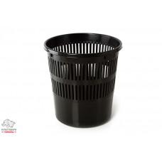 Корзина для бумаг BuroMax JOBMAX d 26 см пластик черный Арт. BM.1920-01