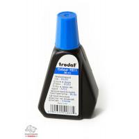 Краска штемпельная Trodat 28 мл водная основа синяя  Арт. 7011