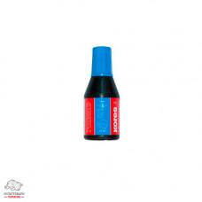 Краска штемпельная Kores 27 мл водная основа синяя Арт. К71308