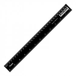 Линейка Axent 30 см пластиковая черная Арт. 7630-01-А