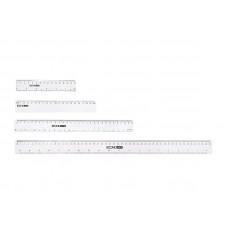 Линейка Economix 20 см пластиковая прозрачная Арт. E81303