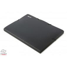 Папка-бокс на резинке Economix А4 ширина 2,0 см пластик черный Арт. Е31401-01
