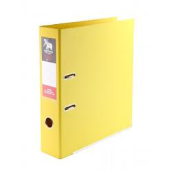 Папка-регистратор 7см Культтовары Украина А4 цвет желтый