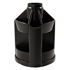 Подставка-органайзер Delta by Axent без наполнения пластик черный ( D3004-01)