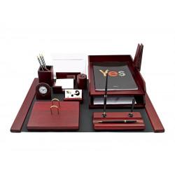 Набор офисный настольный Bestar 10 предметов красное дерево Арт. 0210WDM