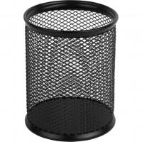 Стакан для ручек Axent круглый металл. сетка черная 80х100 мм Арт. 2110-01-A
