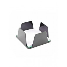 Бокс для бумаг КИП 9х9х4,5 см пластик черный