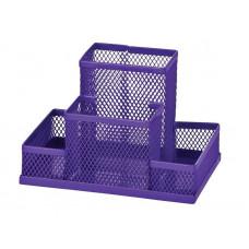 Подставка для канцпринадлежностей ZIBI металл цвет фиолетовый ( ZB.3116-07)