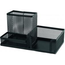 Подставка-органайзер Axent настольная металл. сетка черная Арт. 2116-01-A