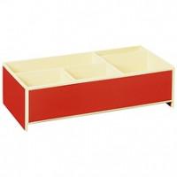 Короб для мелкой канцелярии Semikolon 26,8х16 см цвет красный Арт. 36000-04