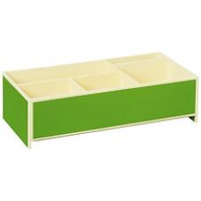Короб для мелкой канцелярии Semikolon 26,8х16 см цвет лайм Арт. 36000-12