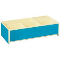 Короб для мелкой канцелярии Semikolon 26,8х16 см цвет бирюзовый Арт. 36000-19