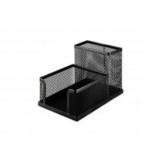 Подставка-органайзер BuroMax металл. сетка черная Арт. BM.6242-01