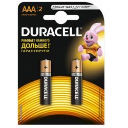 Элементы питания Duracell LR03.