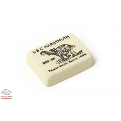 Ластик Koh-I-Noor Hardtmuth 300/80 для карандаша белый Арт. 01261