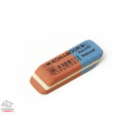 Ластик Koh-I-Noor 6521/80 Blue Star комбинированный красно-синий Арт. 01257