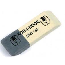 Ластик Koh-I-Noor 6541/40 Sunpear комбинированный бело-серый Арт. 01263
