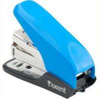 Степлер № 24 Shell PS Axent 20 листов пластик голубой Арт. 4841-07-А