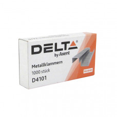 Скоба для степлера №10/5 Delta by Axent 1000 шт (D4101)