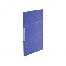 Папка с боковым зажимом BuroMax Barocco А4 пластик фиолетовый Арт. BM.3303-07