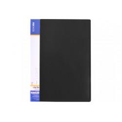 Папка-скоросшиватель Economix А4 Clip A Light пластик цвет черный Арт. E31207-01