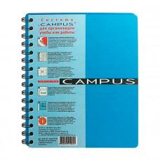 Тетрадь CAMPUS А5 144 листа с 3 разделителями пластиковая обложка на спирали Арт. CA5144- 810