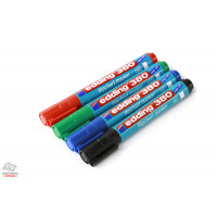 Набор маркеров для флипчарта Edding Е380/4 1,5-3 мм 4 цвета Арт. 01506