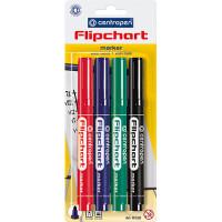 Набор маркеров для флипчарта Centropen Flipchart 2,5 мм 4 цвета Арт. 8550/04