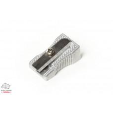 Точилка BuroMax одинарная металлическая без контейнера Арт. BM.4730-24
